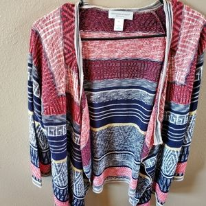 Christopher & Banks Petite P/L cardigan C3